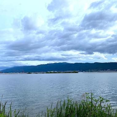 信州一の大きさを誇る諏訪湖