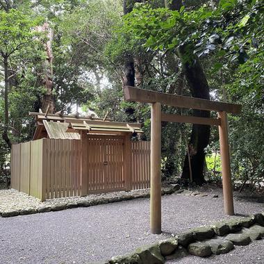 食物の神を祀る伊勢神宮外宮の摂社・小俣神社